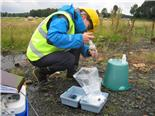 Helen Bonsor, BGS © NERC 2012, Groundwater sampling
